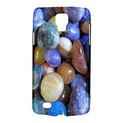 Rock Tumbler Used To Polish A Collection Of Small Colorful Pebbles Galaxy S4 Active