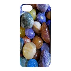 Rock Tumbler Used To Polish A Collection Of Small Colorful Pebbles Apple iPhone 5S/ SE Hardshell Case