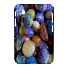 Rock Tumbler Used To Polish A Collection Of Small Colorful Pebbles Samsung Galaxy Tab 2 (7 ) P3100 Hardshell Case