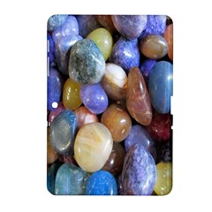 Rock Tumbler Used To Polish A Collection Of Small Colorful Pebbles Samsung Galaxy Tab 2 (10.1 ) P5100 Hardshell Case