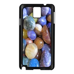 Rock Tumbler Used To Polish A Collection Of Small Colorful Pebbles Samsung Galaxy Note 3 N9005 Case (Black)