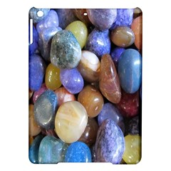 Rock Tumbler Used To Polish A Collection Of Small Colorful Pebbles iPad Air Hardshell Cases