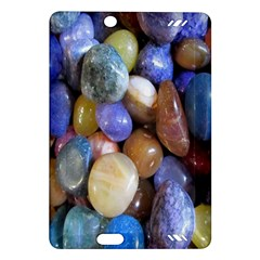 Rock Tumbler Used To Polish A Collection Of Small Colorful Pebbles Amazon Kindle Fire Hd (2013) Hardshell Case