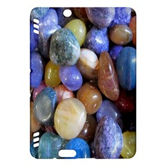 Rock Tumbler Used To Polish A Collection Of Small Colorful Pebbles Kindle Fire Hdx Hardshell Case