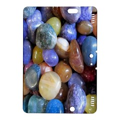 Rock Tumbler Used To Polish A Collection Of Small Colorful Pebbles Kindle Fire HDX 8.9  Hardshell Case