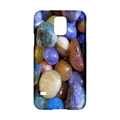 Rock Tumbler Used To Polish A Collection Of Small Colorful Pebbles Samsung Galaxy S5 Hardshell Case
