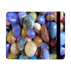 Rock Tumbler Used To Polish A Collection Of Small Colorful Pebbles Samsung Galaxy Tab Pro 8 4  Flip Case