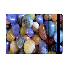 Rock Tumbler Used To Polish A Collection Of Small Colorful Pebbles iPad Mini 2 Flip Cases