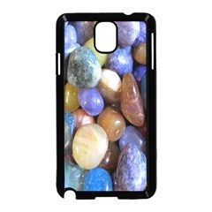 Rock Tumbler Used To Polish A Collection Of Small Colorful Pebbles Samsung Galaxy Note 3 Neo Hardshell Case (Black)