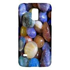 Rock Tumbler Used To Polish A Collection Of Small Colorful Pebbles Galaxy S5 Mini