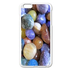 Rock Tumbler Used To Polish A Collection Of Small Colorful Pebbles Apple Iphone 6 Plus/6s Plus Enamel White Case