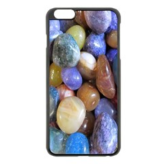 Rock Tumbler Used To Polish A Collection Of Small Colorful Pebbles Apple Iphone 6 Plus/6s Plus Black Enamel Case