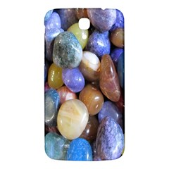 Rock Tumbler Used To Polish A Collection Of Small Colorful Pebbles Samsung Galaxy Mega I9200 Hardshell Back Case