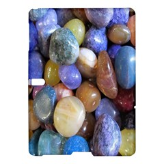 Rock Tumbler Used To Polish A Collection Of Small Colorful Pebbles Samsung Galaxy Tab S (10 5 ) Hardshell Case