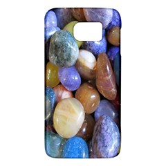Rock Tumbler Used To Polish A Collection Of Small Colorful Pebbles Galaxy S6