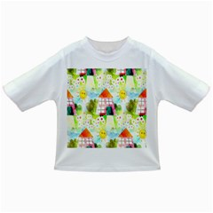 Summer House And Garden A Completely Seamless Tile Able Background Infant/toddler T Shirts