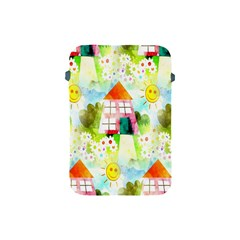 Summer House And Garden A Completely Seamless Tile Able Background Apple iPad Mini Protective Soft Cases