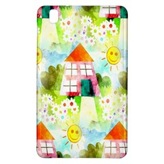 Summer House And Garden A Completely Seamless Tile Able Background Samsung Galaxy Tab Pro 8.4 Hardshell Case