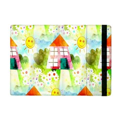 Summer House And Garden A Completely Seamless Tile Able Background iPad Mini 2 Flip Cases