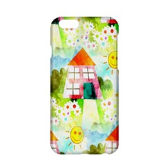 Summer House And Garden A Completely Seamless Tile Able Background Apple iPhone 6/6S Hardshell Case