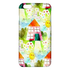 Summer House And Garden A Completely Seamless Tile Able Background Iphone 6 Plus/6s Plus Tpu Case