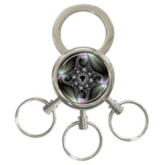 Magic Swirl 3 Ring Key Chains