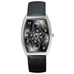 Magic Swirl Barrel Style Metal Watch
