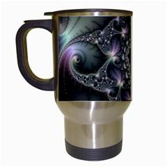 Magic Swirl Travel Mugs (white)