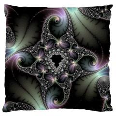 Magic Swirl Large Flano Cushion Case (Two Sides)
