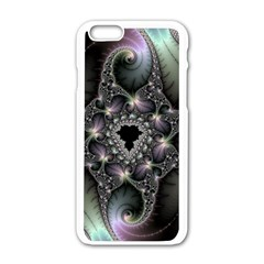 Magic Swirl Apple Iphone 6/6s White Enamel Case