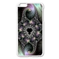Magic Swirl Apple iPhone 6 Plus/6S Plus Enamel White Case