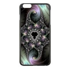 Magic Swirl Apple Iphone 6 Plus/6s Plus Black Enamel Case
