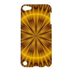 Fractal Yellow Kaleidoscope Lyapunov Apple iPod Touch 5 Hardshell Case