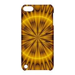 Fractal Yellow Kaleidoscope Lyapunov Apple iPod Touch 5 Hardshell Case with Stand