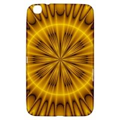 Fractal Yellow Kaleidoscope Lyapunov Samsung Galaxy Tab 3 (8 ) T3100 Hardshell Case
