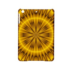 Fractal Yellow Kaleidoscope Lyapunov Ipad Mini 2 Hardshell Cases