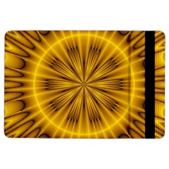Fractal Yellow Kaleidoscope Lyapunov iPad Air 2 Flip