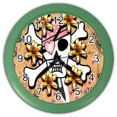 Banner Header Tapete Color Wall Clocks