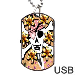 Banner Header Tapete Dog Tag USB Flash (Two Sides)