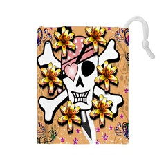 Banner Header Tapete Drawstring Pouches (Large)