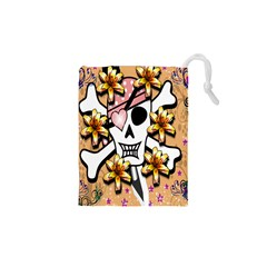 Banner Header Tapete Drawstring Pouches (xs)