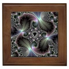 Precious Spiral Wallpaper Framed Tiles