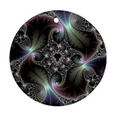 Precious Spiral Wallpaper Ornament (round)