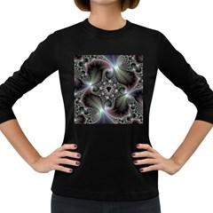 Precious Spiral Wallpaper Women s Long Sleeve Dark T-Shirts