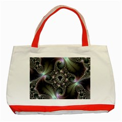 Precious Spiral Wallpaper Classic Tote Bag (red)