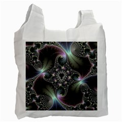 Precious Spiral Wallpaper Recycle Bag (one Side)