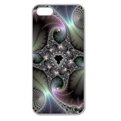 Precious Spiral Wallpaper Apple Seamless iPhone 5 Case (Clear)