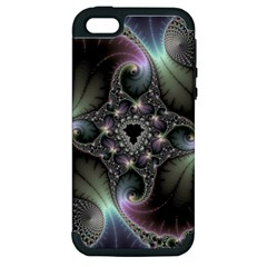 Precious Spiral Wallpaper Apple Iphone 5 Hardshell Case (pc+silicone)