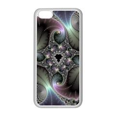 Precious Spiral Wallpaper Apple iPhone 5C Seamless Case (White)