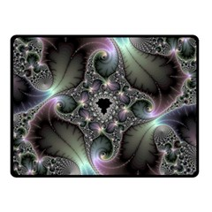 Precious Spiral Wallpaper Double Sided Fleece Blanket (Small)
